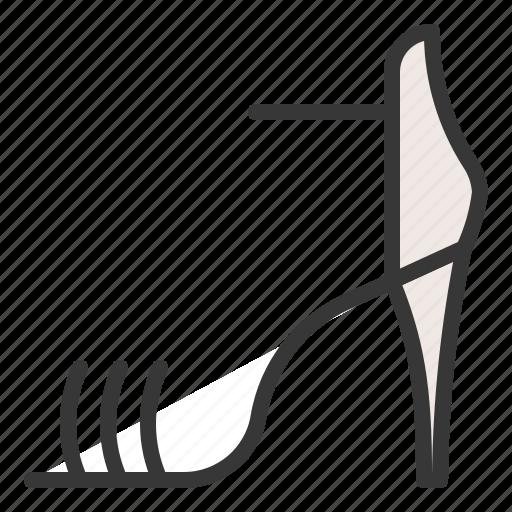 clothes, fashion, female, footwear, high heel, shoe, women icon