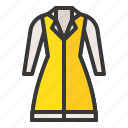 clothes, dress, fashion, female, uniform, women, women's clothing icon