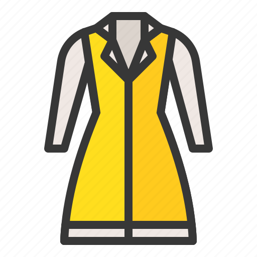clothes, dress, fashion, female, uniform, women, women's clothing icon