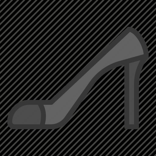 clothes, fashion, female, footwear, high heel, women icon
