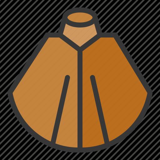clothes, fashion, female, shawl, women, women's clothing icon