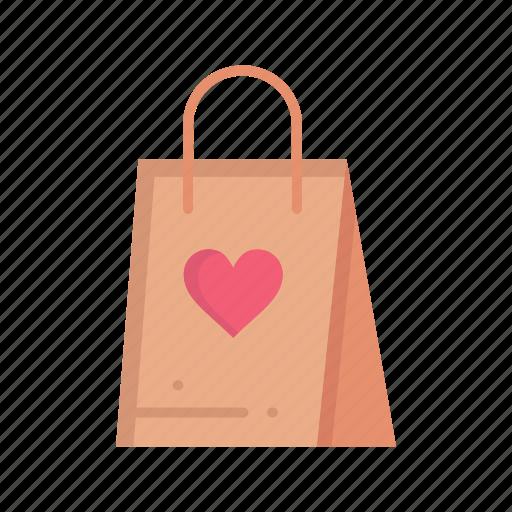2218b68e4355 Bag, day, gift, love, shopping, women, womens icon
