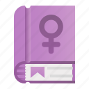 book, education, femenine, feminism, gemale, gender icon