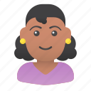 avatar, girl, people, profile, user, woman, young icon