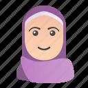 arab, avatar, culture, muslim, people, user, woman icon