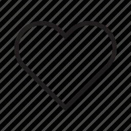 emotion, feeling, heart, like, love, romantic, woman icon
