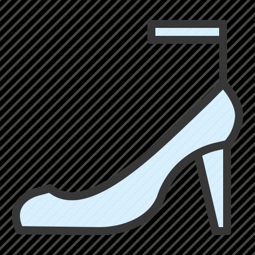 fashion, footwear, high heels, shoes, woman icon