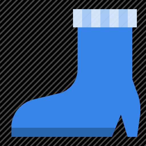 boot, fashion, footwear, shoe, woman icon