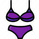 bikini, clothing, colour, womens icon
