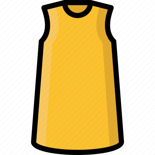 Clothing, colour, dress, shift, womens icon - Download on Iconfinder