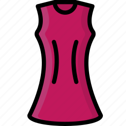 a, clothing, colour, dress, line, womens icon