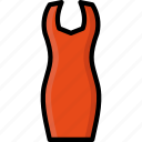 bodycon, clothing, colour, dress, womens icon