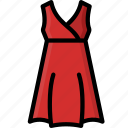 clothing, colour, womens, dress, empire icon