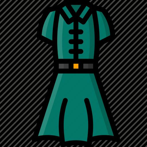 clothing, colour, dress, shirt, womens icon