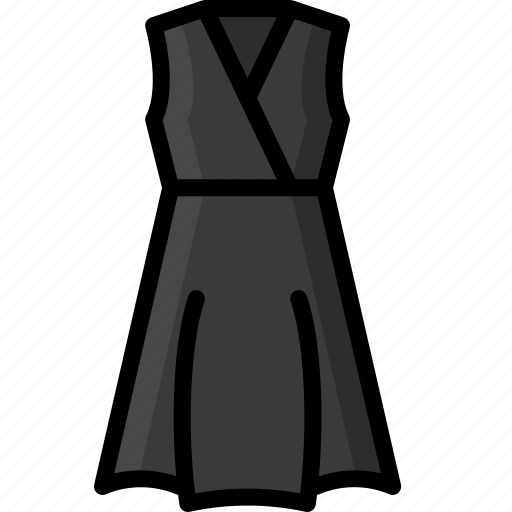 Clothing, colour, dress, womens, wrap icon - Download on Iconfinder