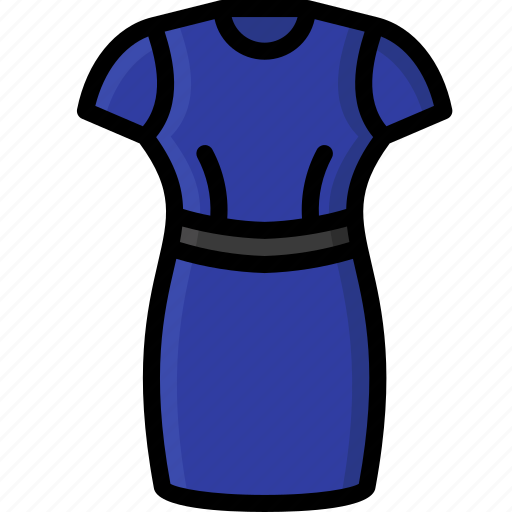 clothing, colour, dress, fitted, womens icon