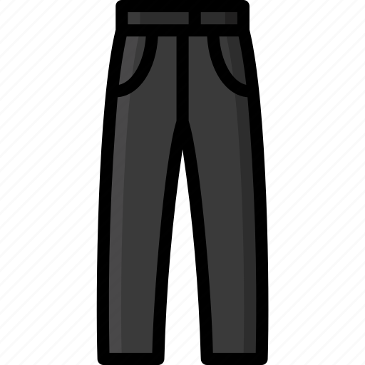 Clothing, colour, pants, trousers, womens icon - Download on Iconfinder