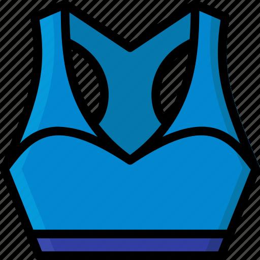 bra, clothing, colour, sports, womens icon