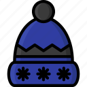clothing, colour, womens, hat, winter icon