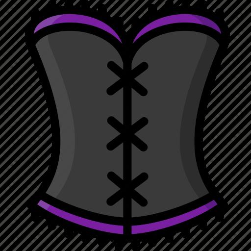clothing, colour, corset, underwear, womens icon