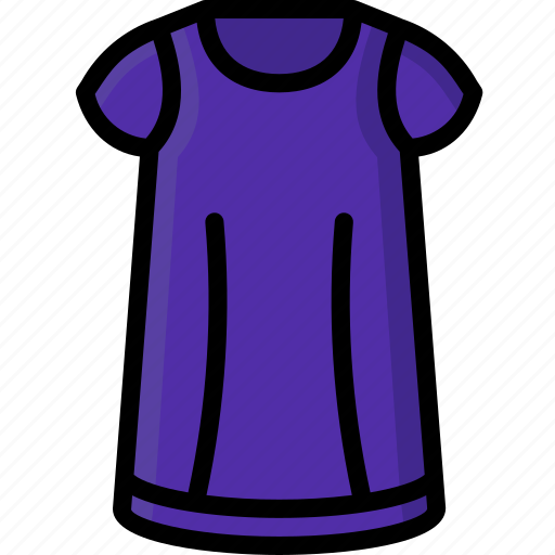 Clothing, colour, nighty, pyjamas, womens icon - Download on Iconfinder