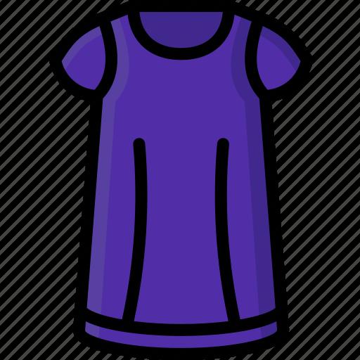clothing, colour, nighty, pyjamas, womens icon