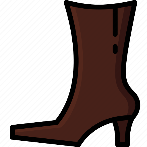 Boots, clothing, colour, leather, womens icon - Download on Iconfinder