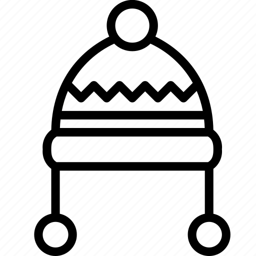 Clothing, hat, outline, winter, womens icon - Download on Iconfinder