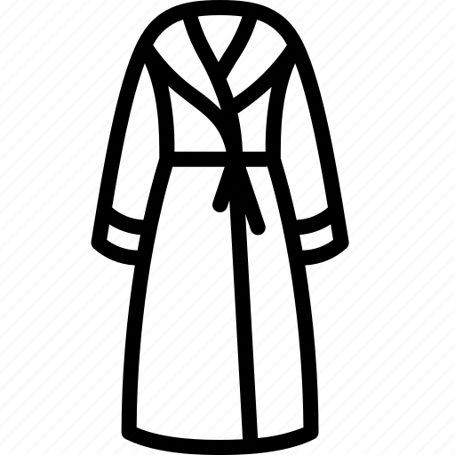 Clothing, dressing, gown, outline, womens icon - Download on Iconfinder
