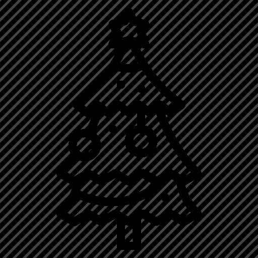 christmas, gifts, holiday, pine tree, presents, santa, tree icon
