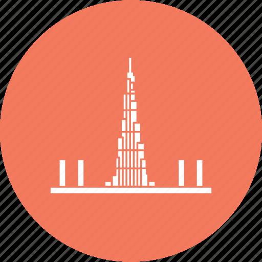 arab, burj, dubai, eminates, khalifa, wonder, world icon