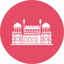 delhi, emperor, fortlahori, gate, gatered, mughal, red fort icon