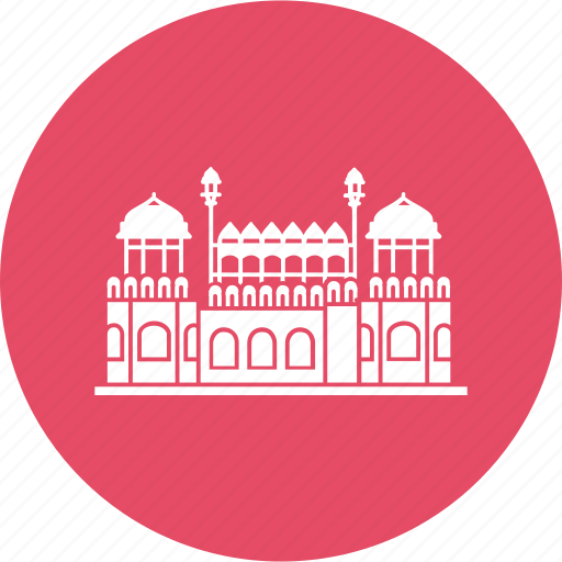 delhi, emperor, fortlahori, gate, gatered, mughal, red fort icon