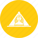 egypt, egyptian, pyramid, seven, wonders, world icon