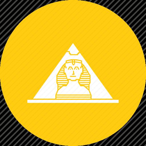 egypt, egyptian, pyramid, seven, wonders, world icon