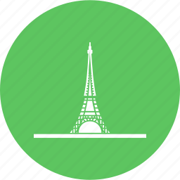 building, eiffel, france, paris, tallest, tower, wonders icon
