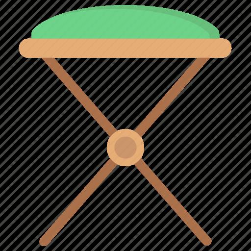 Bedroom furniture, dressing stool, vanity chair, vanity seat, vanity stool icon - Download on Iconfinder