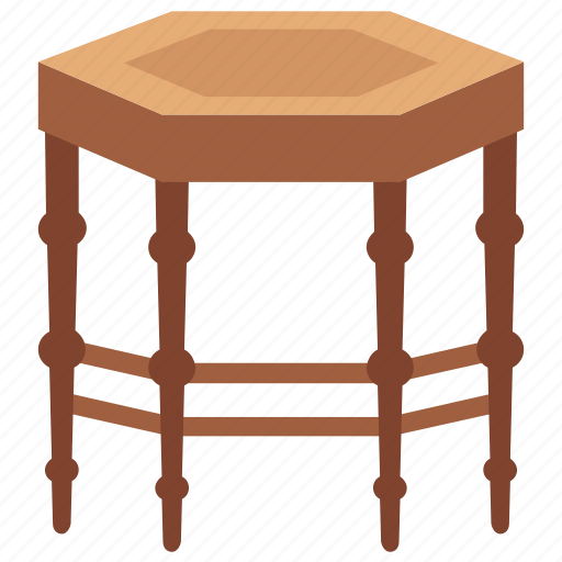 coffee table, dining table, furniture, lounge table, side table icon