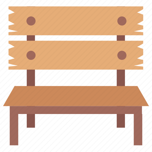 bench, garden furniture, outdoor furniture, park bench, patio furniture icon