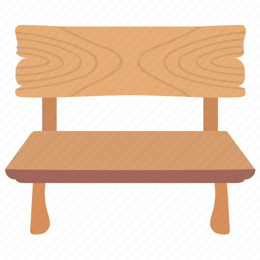 Bench, garden furniture, outdoor furniture, park bench, patio furniture icon - Download on Iconfinder
