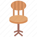 chair, dining chair, furniture, seat, windsor chair