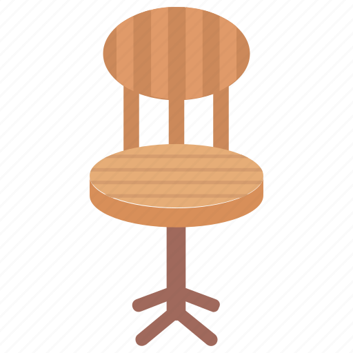 Chair, dining chair, furniture, seat, windsor chair icon - Download on Iconfinder