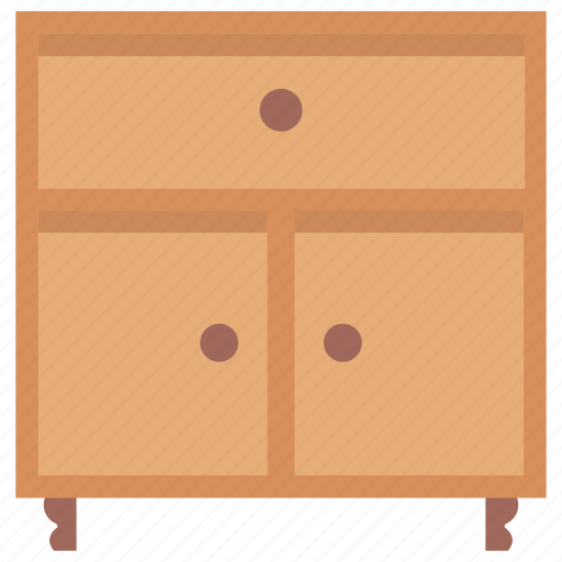 Bureau, cabinets, chest of drawers, filing drawers, furniture icon - Download on Iconfinder