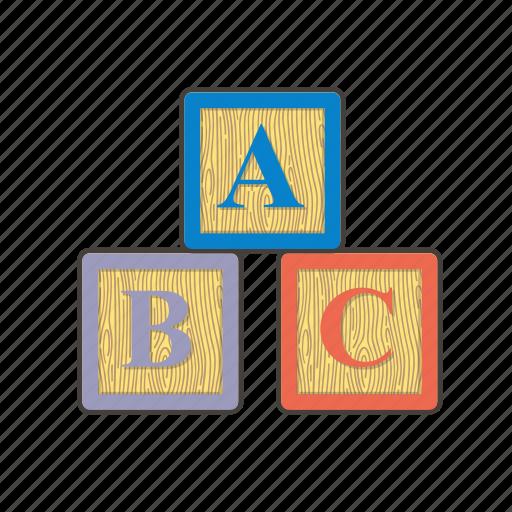 abc, baby, block, blocks, bricks, child, montessori icon