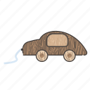 baby, car, kindergarten, toys, transport, vehicle, wood icon