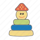baby, child, children, kindergarten, toys, wood, wooden icon