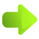 Arrow, green, right icon - Free download on Iconfinder