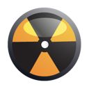 Biohazard, danger, nuclear icon - Free download