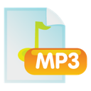document, file, mp3 icon