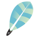 feather, write icon